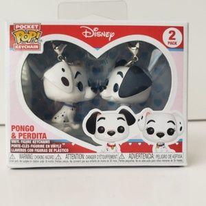 Funko Pocket Pop! Keychain Pongo & Perdita 2 Pack